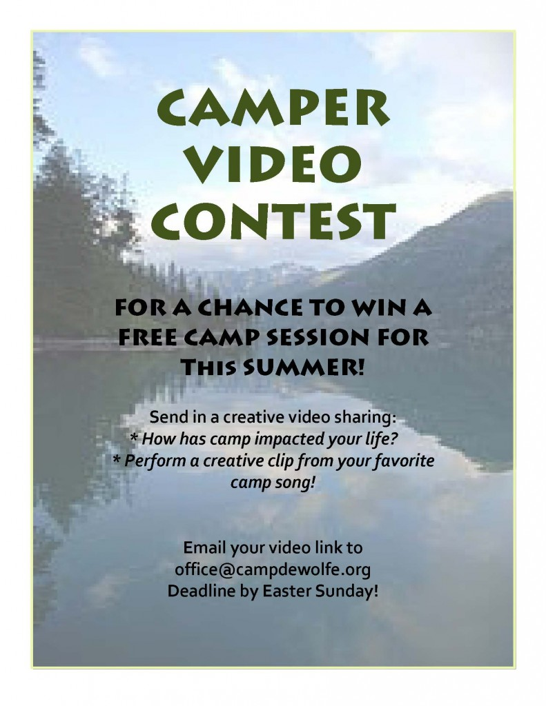 Summer Camp Video Contest