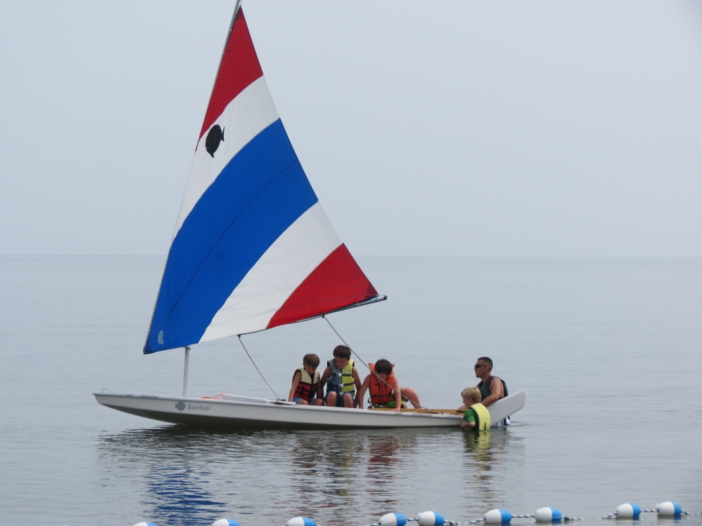 Sailing on the Long Island Sound