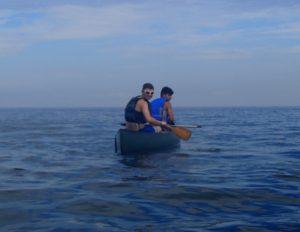 Canoe on the Sound
